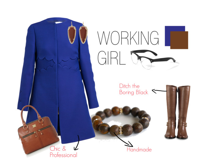 fall outfits ideas in blue
