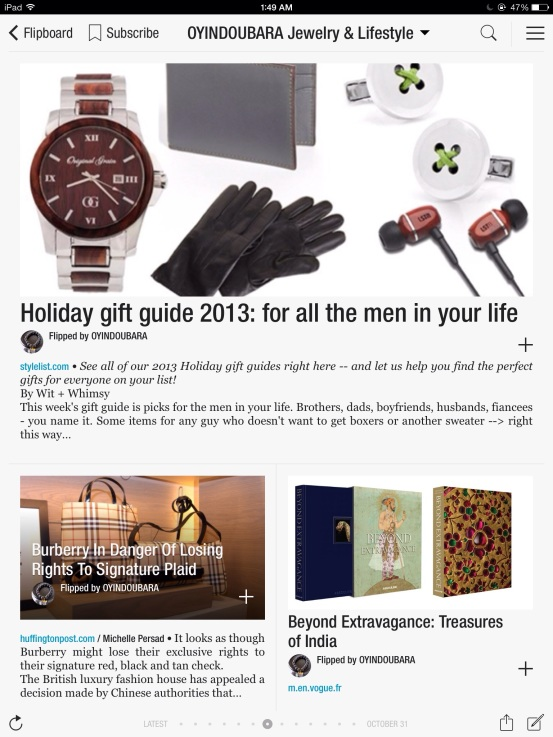 holiday gift guide 2013 for men