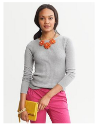 crewneck sweater banana republic