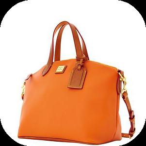 dooney CELEOSIA orange handbag