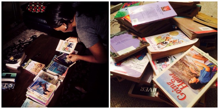 sorting_childrens reading books_oyindoubara_book drive