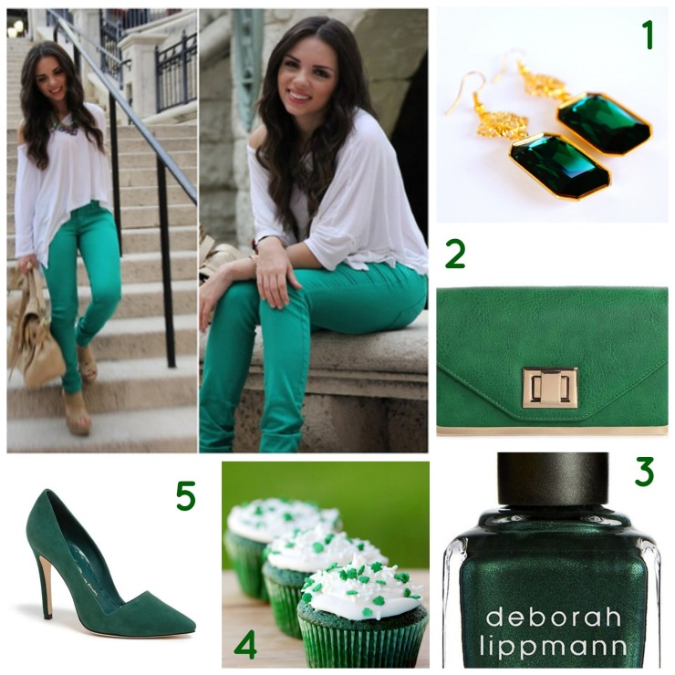 St. Patrick's Day outfit idea_oyindoubara_blog
