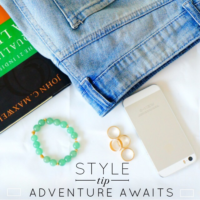 Green Aventurine Bracelet - Adventure Awaits