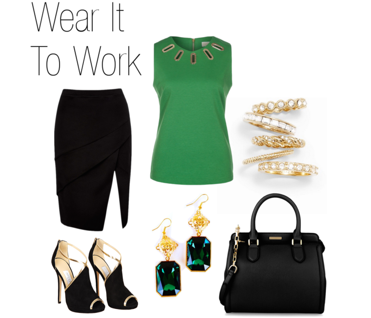 ootd outfit idea-emerald-green