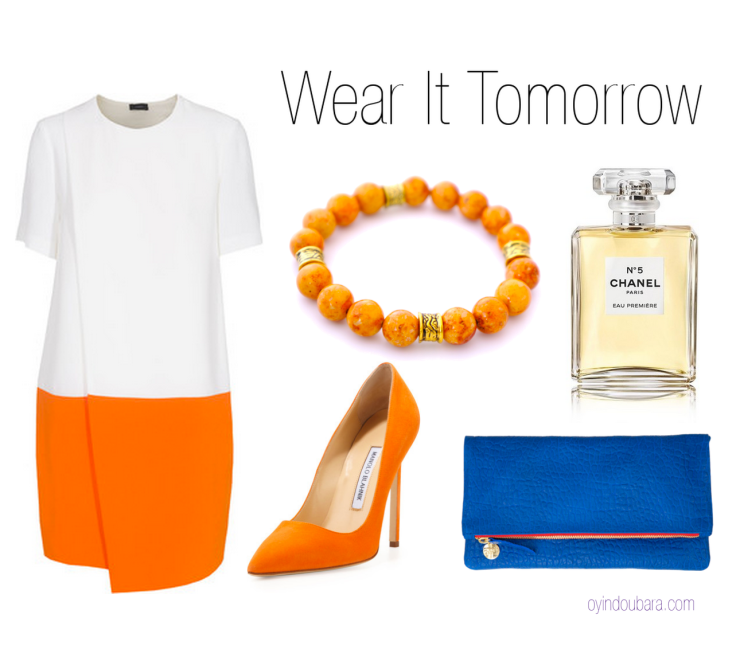 wearing Celosia Orange_and_dazzling-blue-oyindoubara-blog